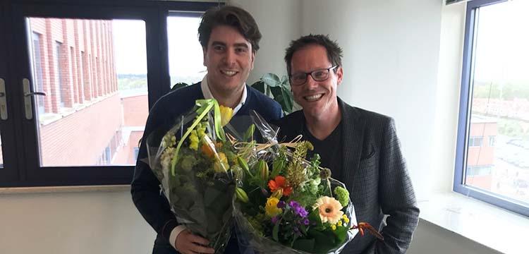 Jasper Meerding en Mark Hekkelman